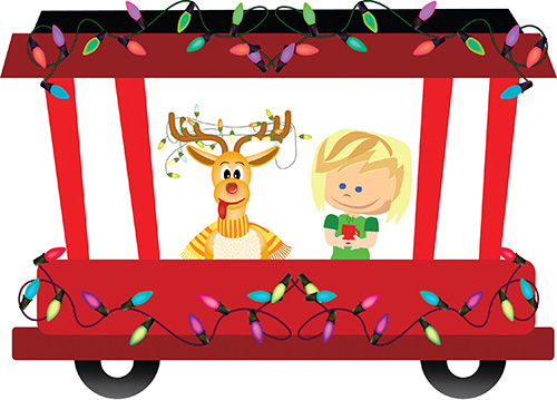 12/14/2019 - Santa Tram driven by Silver State Schools Credit Union