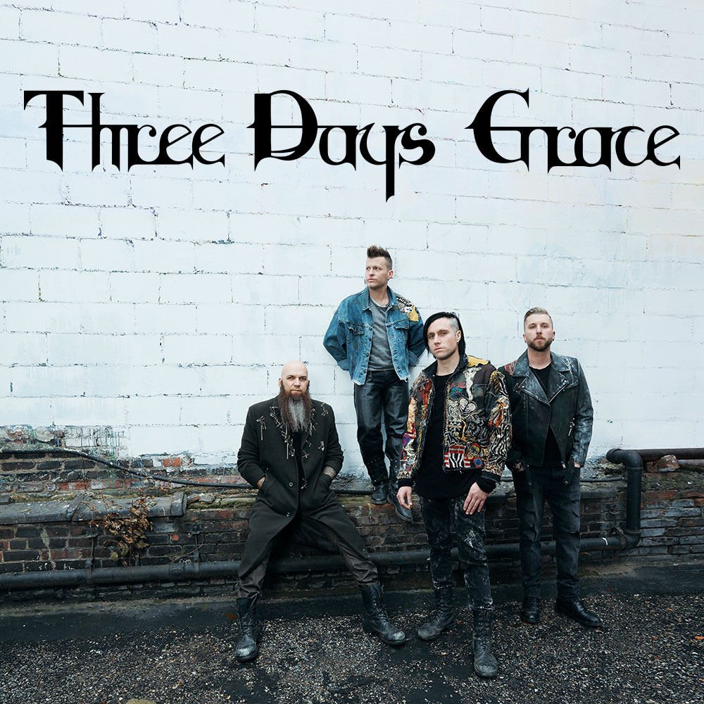 Three Days Grace VIP Upgrade - Quebec City, QC