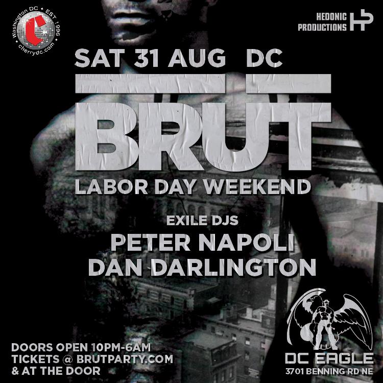 Brüt Washington DC Labor Day Weekend