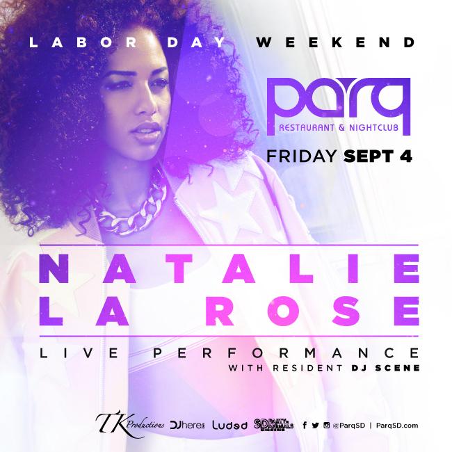 Natalie La Rose at PARQ