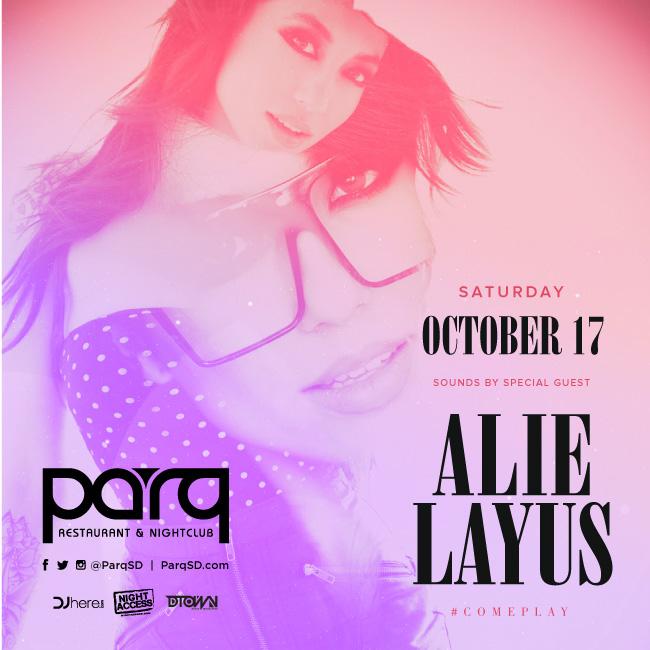Alie Layus at Parq