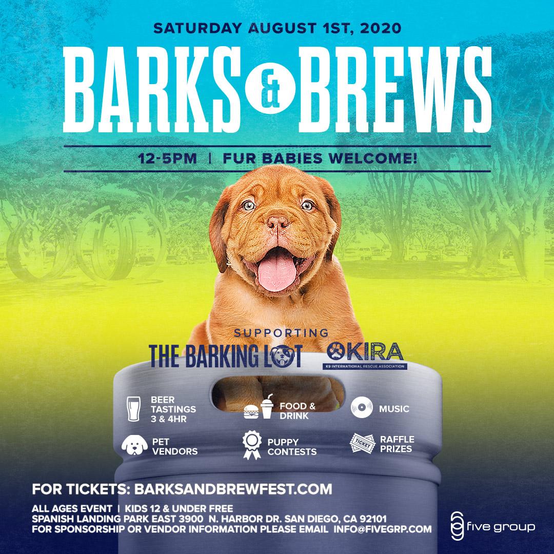 Barks & Brews Fest 2020: A Family Friendly Beer & Dog Festival!