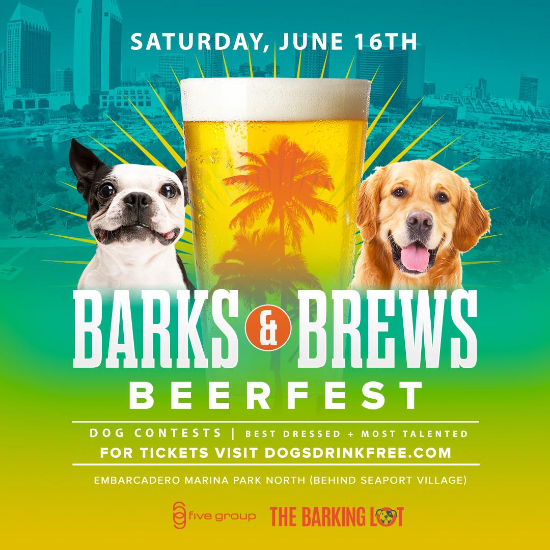 Barks & Brews Beer Festival w/ Dog Contests! (12-6pm)