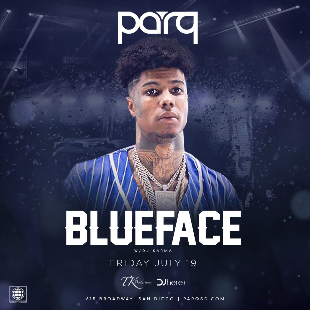 Blueface At Parq Nightclub