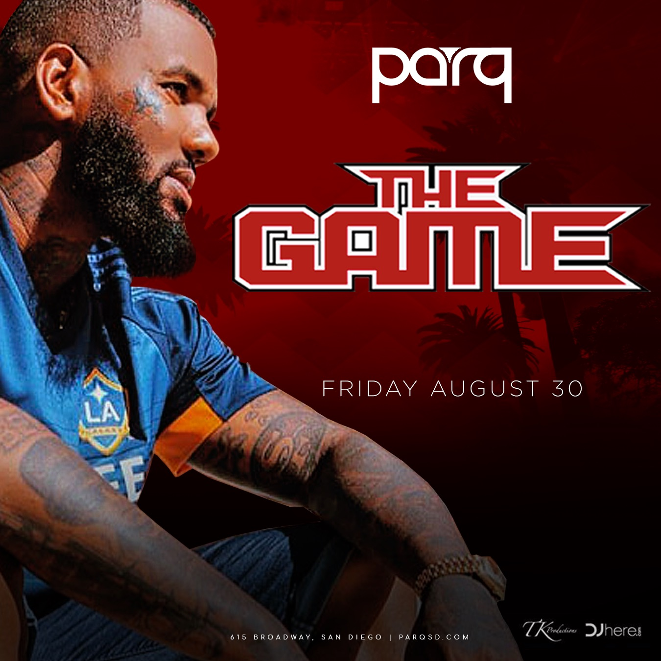 The Game At Parq Nightclub August 30th