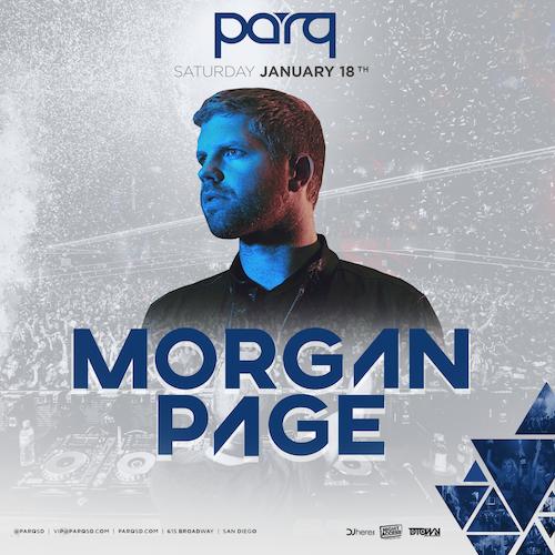 Morgan Page At Parq January 18th