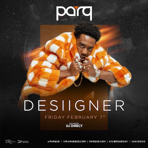 Desiigner At Parq Feb.7th