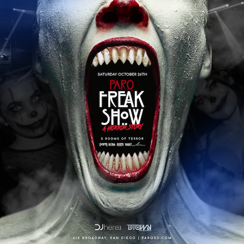 Parq Freak Show : A Horror Story