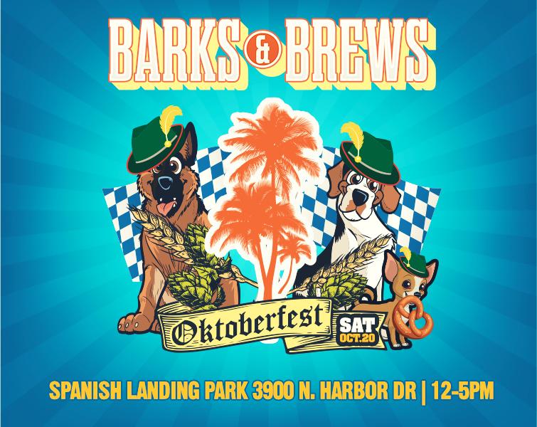 Barks & Brews Oktoberfest Beer Festival w/ Dog Contests!