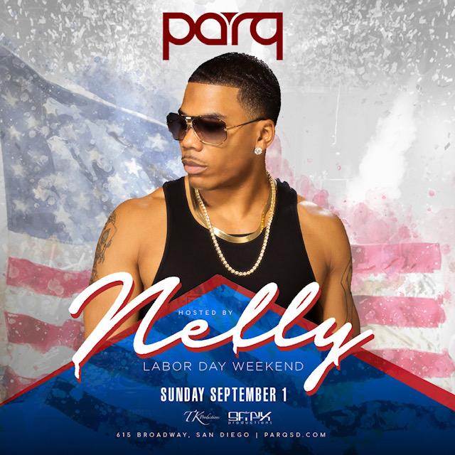 Nelly At Parq Nightclub Sept. 1st