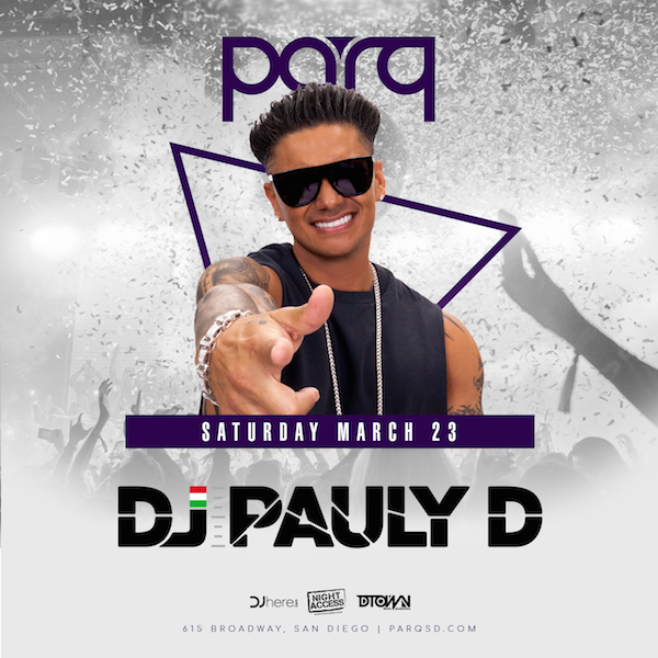 Pauly D at Parq
