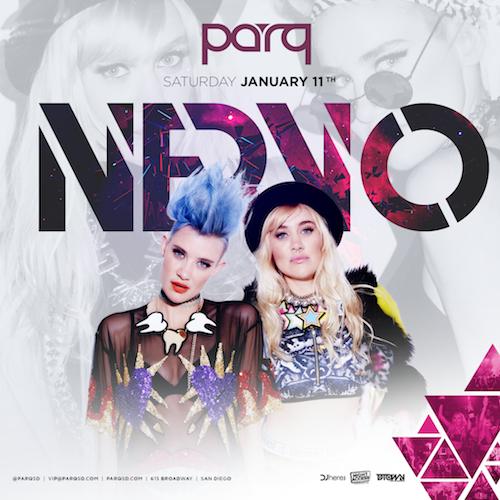 Nervo At Parq Jan.11th