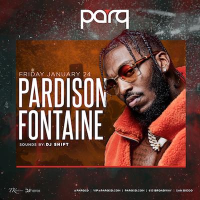Paraison Fontaine At Parq Nightclub