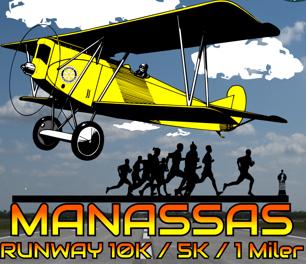 2018 Manassas Runway 5k, 10k, & 1-Miler