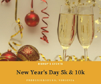 2021 New Year's Day 5k, 10k, & 1M