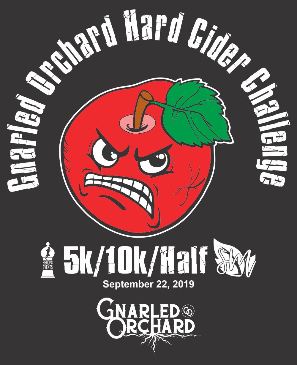2019 The Gnarled Orchard Hard Cider Challenge 5k, 10k, & Half