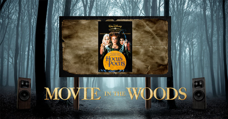 Movie In The woods - Hocus Pocus - Heber City, UT - 10-20-2018