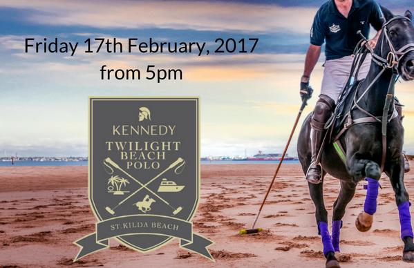 Kennedy Twilight Beach Polo - St Kilda Beach