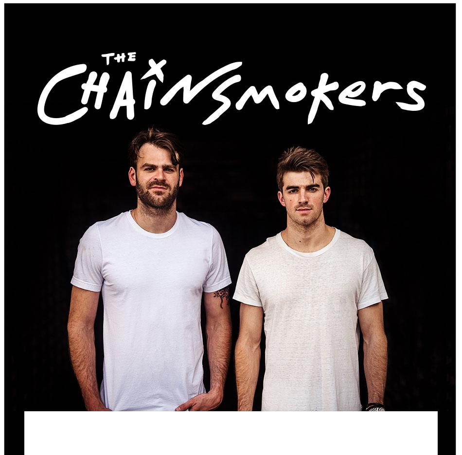 2 Day Pass - Chainsmokers (SAT) & NYE 2018 (SUN)